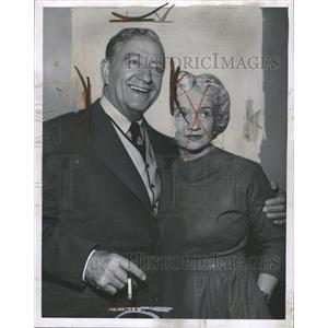 1958 Press Photo Francis X. Bushman and Iva Richardson - RRW46209