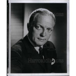 1958 Press Photo Everett Sloane Movie TV Stage Actor - RRX46035