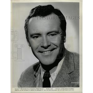 1961 Press Photo Jack Lemmon American Actor - RRW14035