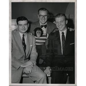 1955 Press Photo Jack Lescoulie (Radio & TV Announcer) - RRW20813