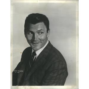 """1965 Press Photo Jack Palance in """"Heaven Can Wait"""" at Mill Run Playhouse"""