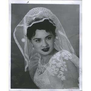 1958 Press Photo Pasita paredes - RSC94323