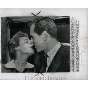 1954 Press Photo Jackie Coopers Third Wife Barbara - RRW02949