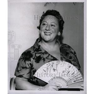 1957 Press Photo Lidia Brazzi Rosanno Wife Movie Actor - RRW81569