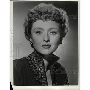 1958 Press Photo Celeste Holm American Gentleman Eve - RRW17399