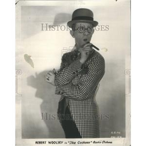 1930 Press Photo Robert Woolsey American actor comedy - RRU66997