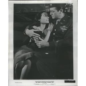 1958 Press Photo Gregory Peck and Marissa Pavan - RSC97273