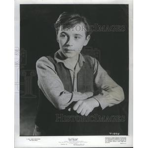 1958 Press Photo Actor Tommy Kirk In Old Yeller - RSC04153