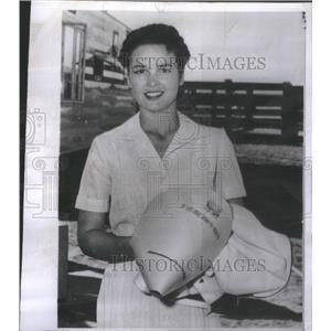 1956 Press Photo Actress Kathy Grant - RSC23753
