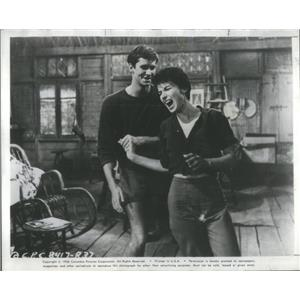 1958 Press Photo Return To Warbow Film Actors Dancing Living Room Scene