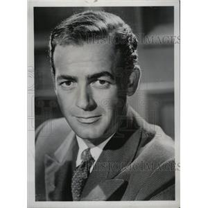 1953 Press Photo Mark Stevens Martha Kane star show - RRW71943