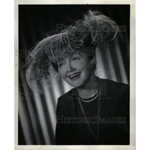 1947 Press Photo Hedda Hopper Louella Parsons gossip - RRW12895