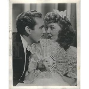 1955 Press Photo Allen Jones and Mary martin in The Great Victor Herbert