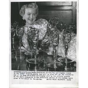 1955 Press Photo Actress Kay Christopher - RRW41935