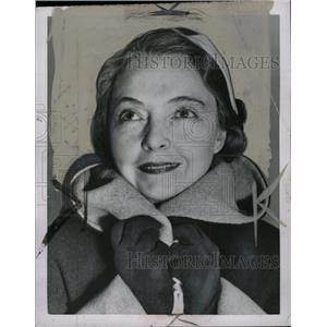 1952 Press Photo Lillian Gish Actress - RRW71801
