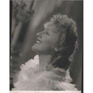 1939 Press Photo GABY MORLAY FRENCH FILM ACTRESS - RSC91215