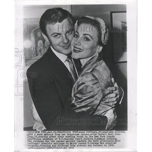 1951 Press Photo Married Actors Jeffreys Sterling - RRW28677