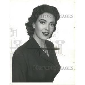 1957 Press Photo Linda Darnell - RRW33447