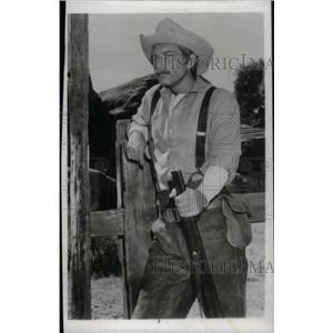 1958 Press Photo Morgan Woodward American Actor Dallas - RRX41109