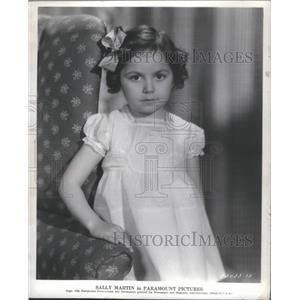 1936 Press Photo Sally Martin Paramount Pictures - RSC02531