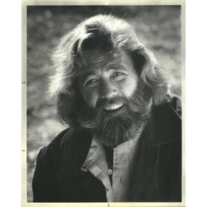 1977 Press Photo Dan Haggerty Actor Grizzly Adams - RSC92823