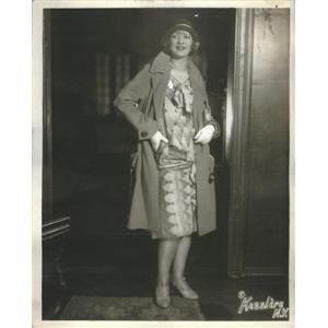 1930 Press Photo Nina Olivette Actress - RSC89495