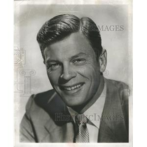 "1955 Press Photo Actor Peter Graves TV Show ""Fury"" - RRW33615"