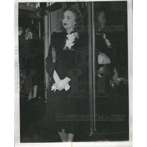 1940 Press Photo Kay Littlefield American Film Actress Life With Father Opening