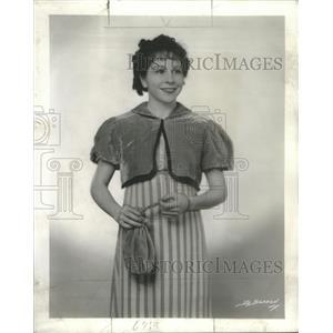 1936 Press Photo Muriel Kirkland American Movie Television Actress - RSC04899
