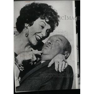1961 Press Photo Actors D'Orsay Truex - RRW71411