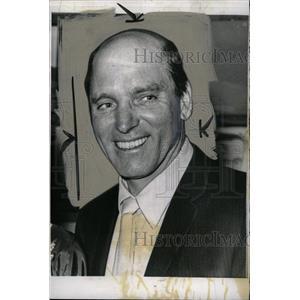 1961 Press Photo Burt Lancaster American Actor - RRX64487