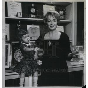 1960 Press Photo Olivia de Havilland Film Stage Actress - RRX47449