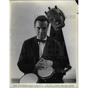 1958 Press Photo John Uhler Jack Lemmon III Odd Couple - RRW14065