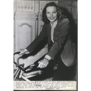 1942 Press Photo Jane Randolph Actress - RSC88439
