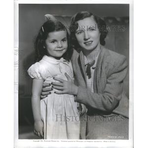 1941 Press Photo Carolyn Lee - RSC15117