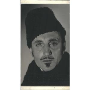 Press Photo Basil Rathbone - English Actor. - RSC88369