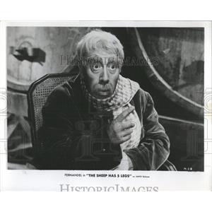 1955 Press Photo Fernandel French Actor Singer - RRX98389