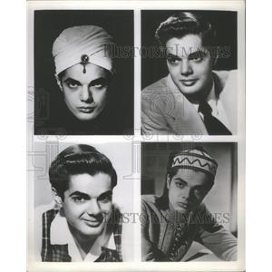 1953 Press Photo Robert Kendall American film actor writer Hollywood Kellogg