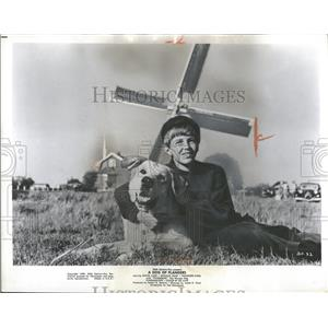 1960 Press Photo David Ladd A Dog Of Flanders Actor