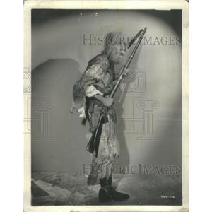 1934 Press Photo Chic Sale Treasure Island Actor - RSC30379