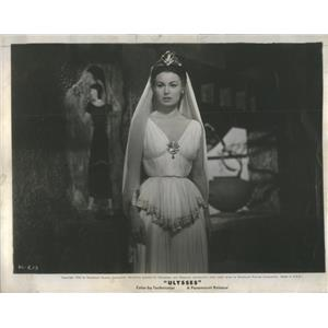 1955 Press Photo Sylvana Mangano Ulysses Film Actress - RSC99773