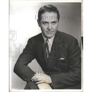 1940 Press Photo Alexander Kirkland Hollywood film star Pittsburgh theater Gypsy