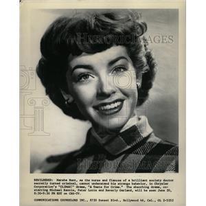 1957 Press Photo Marsha Hunt Actress Taste For Crime - RRW26133