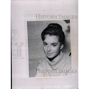 1960 Press Photo American Actress Gigi Perreau - RRW98333