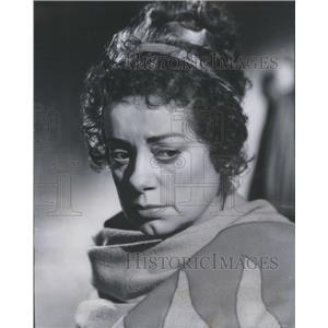 1954 Press Photo Elsa Lancaster Actress Androcles and the Lion - RSC05059