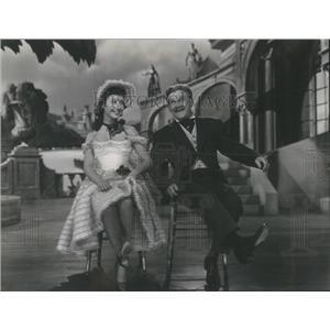 1952 Press Photo Mitzi Gaynor and James Barton - RSC47913