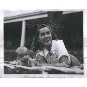 1946 Press Photo Jinx Falkenburg John Reagan Paddy McCrary III - RSC27077