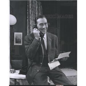 1959 Press Photo Jeffrey Lynn American Film & Television Actor - RSC06031