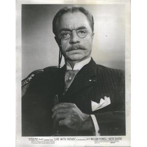 1947 Press Photo William Powell American Actor. - RSC88297