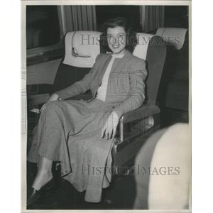 1949 Press Photo Candy Toxton American Movie Actress - RSC06725